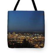 Portland At Dusk Tote Bag