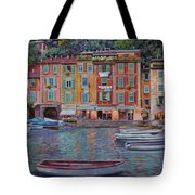 Portofino Al Crepuscolo Tote Bag