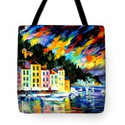 Portofino Harbor - Italy Tote Bag