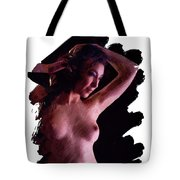 Portrait, Nude By Mb Tote Bag