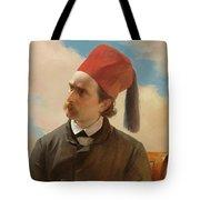 Portrait Of A Scholar Tote Bag
