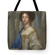 Portrait Of A Woman As Saint Agnes Tote Bag