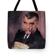 Portrait Of Aa Stahovich 1911 Valentin Serov Tote Bag
