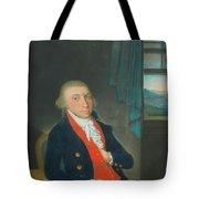 Portrait Of An American Sea Captain Tote Bag