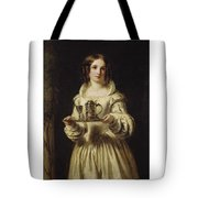 Portrait Of Anne Page Tote Bag