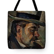 Portrait Of Artist Karnakoski Tote Bag