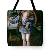 Portrait Of Captain Thomas Lee Tote Bag