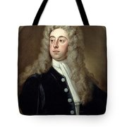Portrait Of Francis 2nd Earl Of Godolphin 1678-1766 Sir Godfrey Kneller Tote Bag