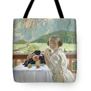 Portrait Of Irina Kustodieva Tote Bag