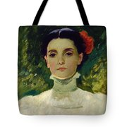 Portrait Of Maggie Wilson Tote Bag