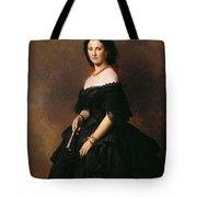Portrait Of Princess Bariatinskaya Franz Xavier Winterhalter Tote Bag