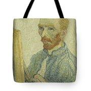 Portrait Of Vincent Van Gogh Tote Bag