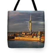 Portsmouth Harbour England  Tote Bag