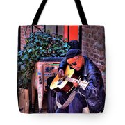 Post Alley Musician Tote Bag