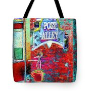 Post Alley Tote Bag
