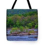 Potomac River Near Harpers Ferry Tote Bag