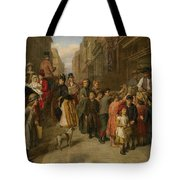 Poverty And Wealth Tote Bag