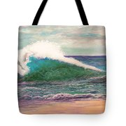 Powerful Sea Tote Bag