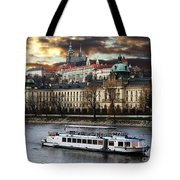 Prague By The Water Tote Bag