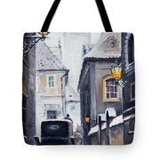 Prague Old Street 02 Tote Bag