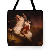 Prairie On Fire Tote Bag