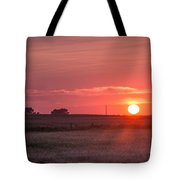 Prairie Sunset Tote Bag