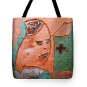 Prayer 37 - Tile Tote Bag