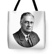 President Franklin Roosevelt Graphic  Tote Bag