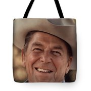 President Ronald Reagan Tote Bag