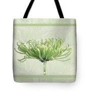 Pretty In Green Tote Bag