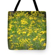 Pretty In Yellow Tote Bag by Kathy DesJardins