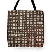 Prickly Poppy Abstract Tote Bag