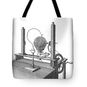 Priestleys Electrostatic Machine, 1775 Tote Bag