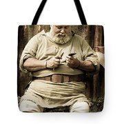 Primitive Man Tote Bag