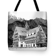 Prince Of Wales Hotel Tote Bag