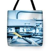 Print Screening Metal Machine. Tote Bag