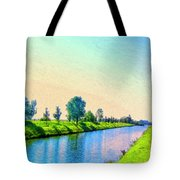 Provence Canal Tote Bag