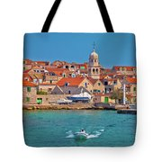 Prvic Sepurine Waterfront And Stone Architecture View Tote Bag