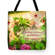 Psalm 23 6 Tote Bag