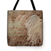 Psalm 37 Tote Bag