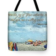 Psalm 51 12 Tote Bag