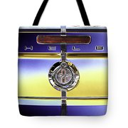 Psychedelic Shelby Ford Mustang Trunk Lid And Badge 4 Tote Bag