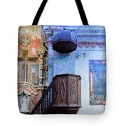 Pulpit - San Xavier Mission - Tucson Arizona Tote Bag