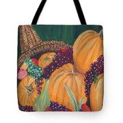 Pumpkin Plenty Tote Bag