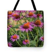 Purple Blooms Tote Bag