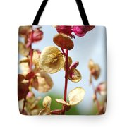 Purple Goosefoot Chenopodium Tote Bag