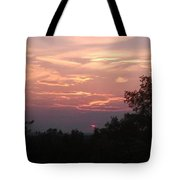 Purple Summer Evening Tote Bag