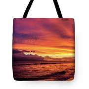 Purple Sunset Tote Bag
