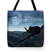 Pursuit Of The Fox  Tote Bag