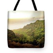 Puu O Kila Lookout, Kauai, Hi Tote Bag by T Brian Jones
